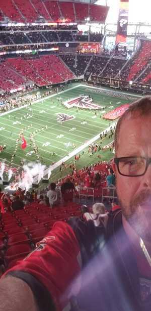 Samuel attended Atlanta Falcons vs. Washington Redskins - NFL Preseason on Aug 22nd 2019 via VetTix