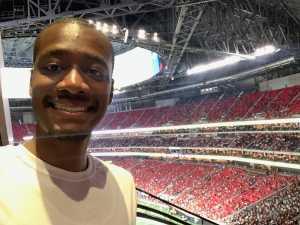 Ja'Qualen attended Atlanta Falcons vs. Washington Redskins - NFL Preseason on Aug 22nd 2019 via VetTix