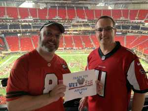 Todd attended Atlanta Falcons vs. Washington Redskins - NFL Preseason on Aug 22nd 2019 via VetTix