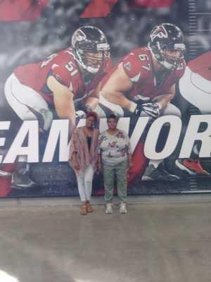 vanesa attended Atlanta Falcons vs. Washington Redskins - NFL Preseason on Aug 22nd 2019 via VetTix