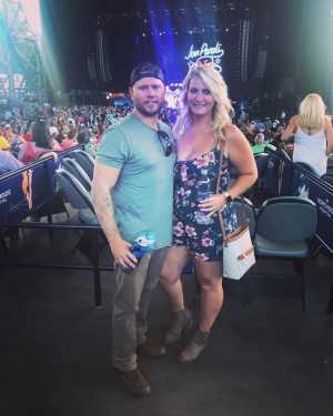 Sawyer attended Dierks Bentley: Burning Man 2019 - Country on Aug 8th 2019 via VetTix