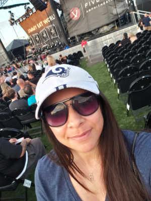RSV attended Third Eye Blind on Aug 3rd 2019 via VetTix