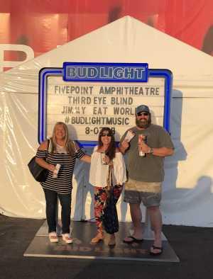 Christa attended Third Eye Blind on Aug 3rd 2019 via VetTix
