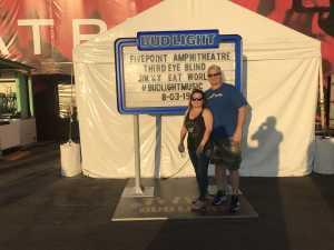 Pat attended Third Eye Blind on Aug 3rd 2019 via VetTix