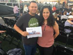 David attended Third Eye Blind on Aug 3rd 2019 via VetTix