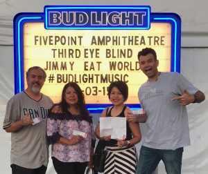 Todd attended Third Eye Blind on Aug 3rd 2019 via VetTix