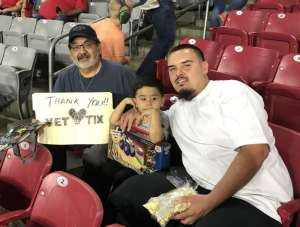 Ruben attended Monster Jam - Motorsports/racing on Oct 5th 2019 via VetTix