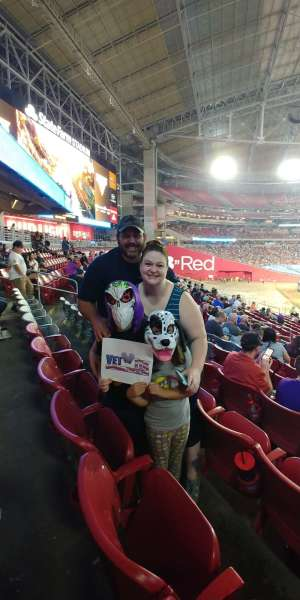 erik attended Monster Jam - Motorsports/racing on Oct 5th 2019 via VetTix