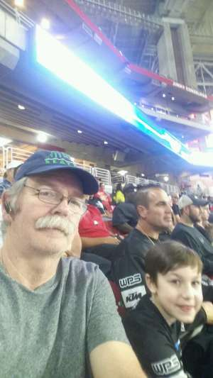 Jerry, Curtis & Curty attended Monster Jam - Motorsports/racing on Oct 5th 2019 via VetTix