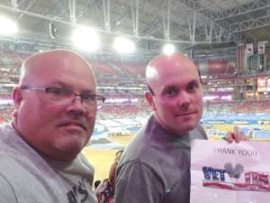 Dean attended Monster Jam - Motorsports/racing on Oct 5th 2019 via VetTix
