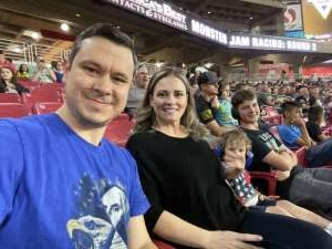 Phillip attended Monster Jam - Motorsports/racing on Oct 5th 2019 via VetTix