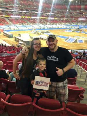 George attended Monster Jam - Motorsports/racing on Oct 5th 2019 via VetTix