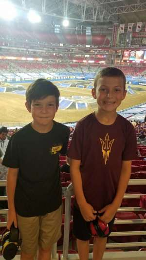 Sean attended Monster Jam - Motorsports/racing on Oct 5th 2019 via VetTix