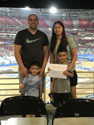 Makarios attended Monster Jam - Motorsports/racing on Oct 5th 2019 via VetTix