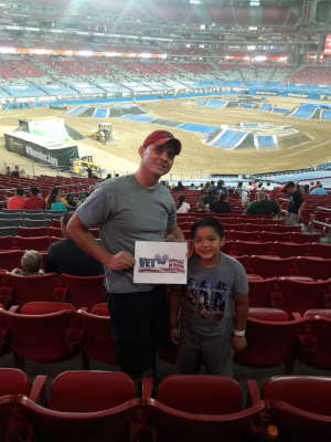 Tony attended Monster Jam - Motorsports/racing on Oct 5th 2019 via VetTix
