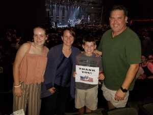Travis attended Young the Giant & Fitz and the Tantrums - Pop on Aug 11th 2019 via VetTix
