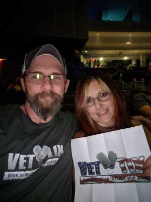 Christopher attended Young the Giant & Fitz and the Tantrums - Pop on Aug 11th 2019 via VetTix