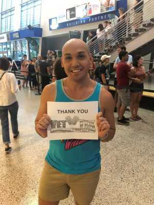 Abelardo attended Young the Giant & Fitz and the Tantrums - Pop on Aug 11th 2019 via VetTix