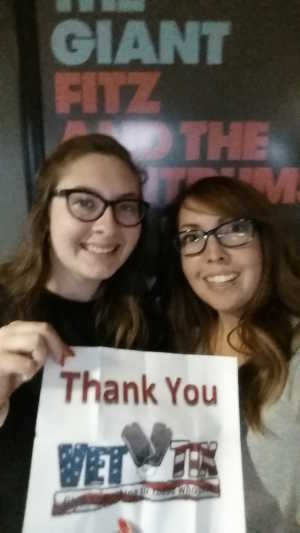 RN attended Young the Giant & Fitz and the Tantrums - Pop on Aug 11th 2019 via VetTix