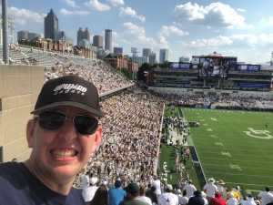 Bryan attended Georgia Tech vs. USF - NCAA Football on Sep 7th 2019 via VetTix