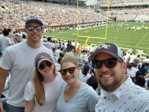 Daniel attended Georgia Tech vs. USF - NCAA Football on Sep 7th 2019 via VetTix