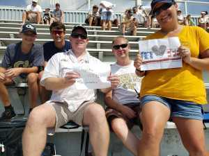 Jeannie attended Georgia Tech vs. USF - NCAA Football on Sep 7th 2019 via VetTix