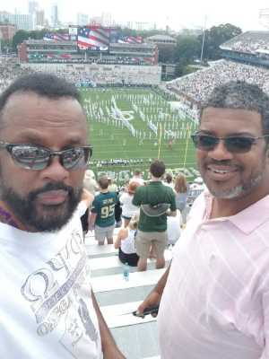 freddie attended Georgia Tech vs. USF - NCAA Football on Sep 7th 2019 via VetTix