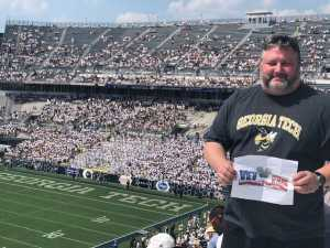 Christopher attended Georgia Tech vs. USF - NCAA Football on Sep 7th 2019 via VetTix