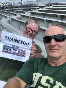 Robert attended Georgia Tech vs. USF - NCAA Football on Sep 7th 2019 via VetTix