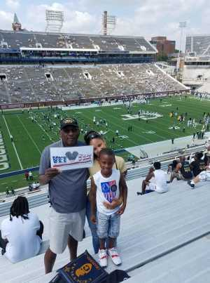 PRINCE attended Georgia Tech vs. USF - NCAA Football on Sep 7th 2019 via VetTix