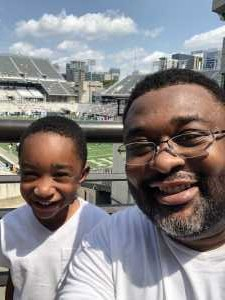 Donald attended Georgia Tech vs. USF - NCAA Football on Sep 7th 2019 via VetTix