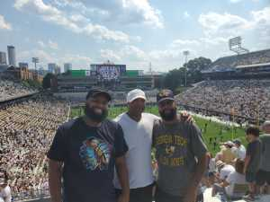 Jeremy attended Georgia Tech vs. USF - NCAA Football on Sep 7th 2019 via VetTix