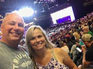 Douglas attended John Mayer - Pop on Aug 12th 2019 via VetTix