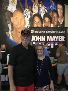 James attended John Mayer - Pop on Aug 12th 2019 via VetTix