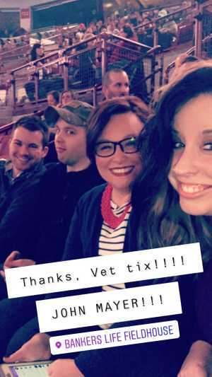 Quintin attended John Mayer - Pop on Aug 12th 2019 via VetTix