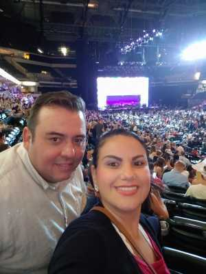 Cristian attended John Mayer - Pop on Aug 12th 2019 via VetTix