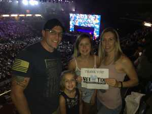 William and Jenni attended John Mayer - Pop on Aug 12th 2019 via VetTix