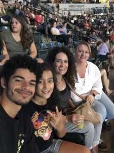 Shannon attended John Mayer - Pop on Aug 12th 2019 via VetTix
