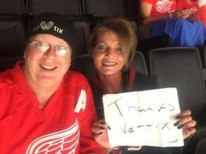 Click To Read More Feedback from Detroit Red Wings vs. Pittsburgh Penguins - NHL Preseason