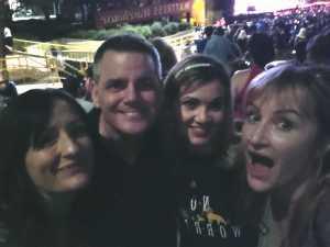 Sam attended Bryan Adams & Billy Idol - Pop on Aug 12th 2019 via VetTix