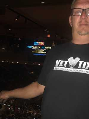 john attended Hootie & the Blowfish: Group Therapy Tour - Pop on Aug 11th 2019 via VetTix