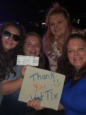 Kathleen attended Hootie & the Blowfish: Group Therapy Tour - Pop on Aug 11th 2019 via VetTix