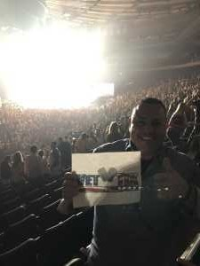 Ernesto A attended Hootie & the Blowfish: Group Therapy Tour - Pop on Aug 11th 2019 via VetTix