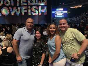 Antony attended Hootie & the Blowfish: Group Therapy Tour - Pop on Aug 11th 2019 via VetTix