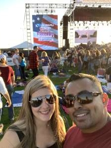 Aaron attended Subaru Country Freedom Festival - LA Water Front *** Please See Special Notes Below *** on Oct 19th 2019 via VetTix