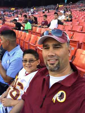 Cole attended Washington Redskins vs. Cincinnati Bengals - NFL on Aug 15th 2019 via VetTix