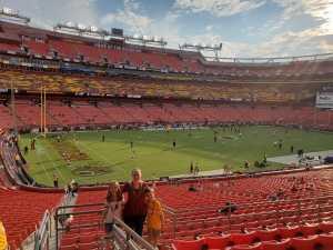 Amanda attended Washington Redskins vs. Cincinnati Bengals - NFL on Aug 15th 2019 via VetTix