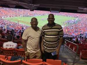 Eugene attended Washington Redskins vs. Cincinnati Bengals - NFL on Aug 15th 2019 via VetTix