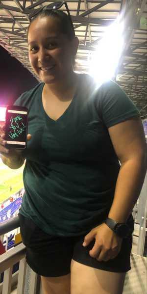 JESSICA attended Washington Redskins vs. Cincinnati Bengals - NFL on Aug 15th 2019 via VetTix