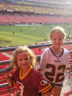 Kyler attended Washington Redskins vs. Cincinnati Bengals - NFL on Aug 15th 2019 via VetTix